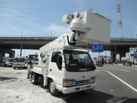 中古高所作業車 ニッサン アトラス