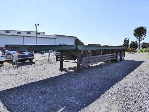 トレーラー国産車その他フルハーフ中古トラック詳細  フルハーフ 2軸12mまな板セミトレーラー 積載29.1トン