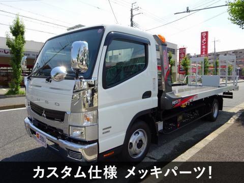中古キャリアカー(積載車) 三菱ふそう キャンター