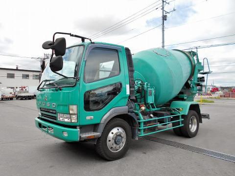 中古ミキサー車(生コン車) 三菱ふそう ファイター