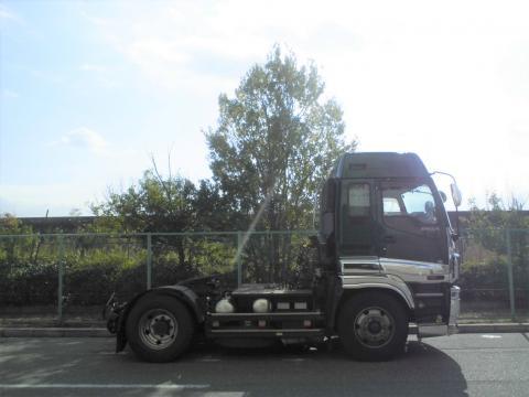 中古トラック H20年式 ハイルーフ ギガ トラクタ 積載11.5
