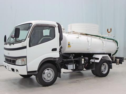 中古糞尿車(バキュームカー) 日野 デュトロ