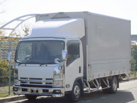 中古トラック H19年式 積載3t E/G乗せ変え歴有 ワイドロング