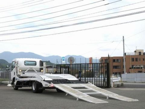 中古キャリアカー(積載車) いすゞ エルフ