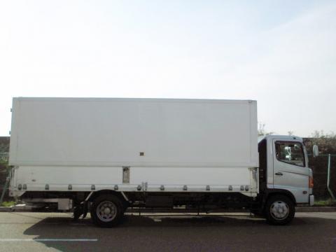 中古トラック H14年式 増トン格納ゲート付 アルミウイング
