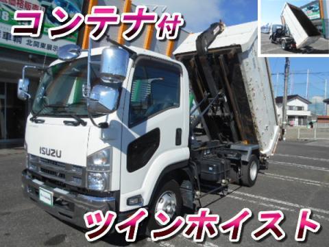 中古コンテナ車 いすゞ