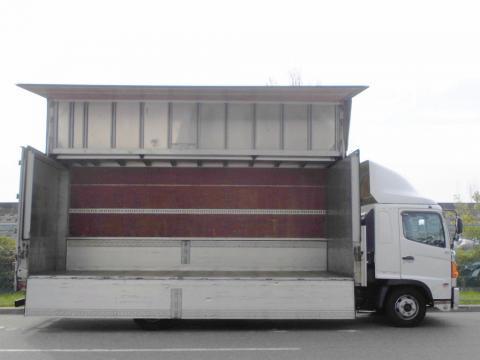 中古トラック H19年式  ワイドベット付 6.2m アルミウイング