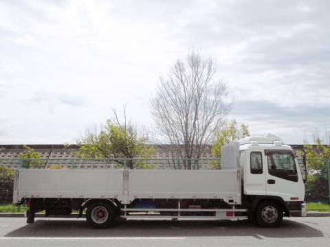 中古トラック H19年式 エアサス ワイドベット付 アルミブロック