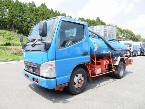 中古糞尿車(バキュームカー) 三菱ふそう キャンター