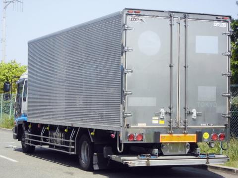 中古トラック H18年式 エアサス 格納ゲート付 アルミバン