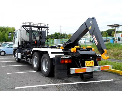 中古コンテナ車 いすゞ ギガ