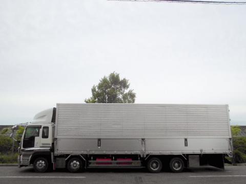 中古トラック H17年式 4軸低床 エアサス アルミウイング