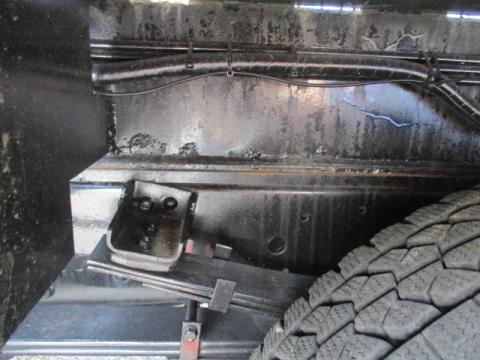 中古穴掘建柱車 三菱ふそう キャンター