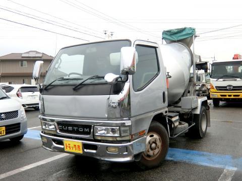 中古ミキサー車(生コン車) 三菱ふそう キャンター