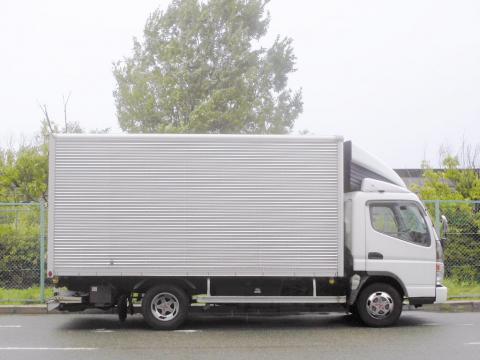 中古トラック H17年式 格納ゲート付 アルミバン