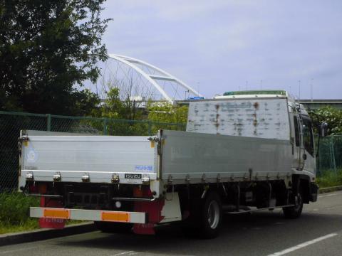 中古トラック H17年式 ワイドベット付 アルミブロック