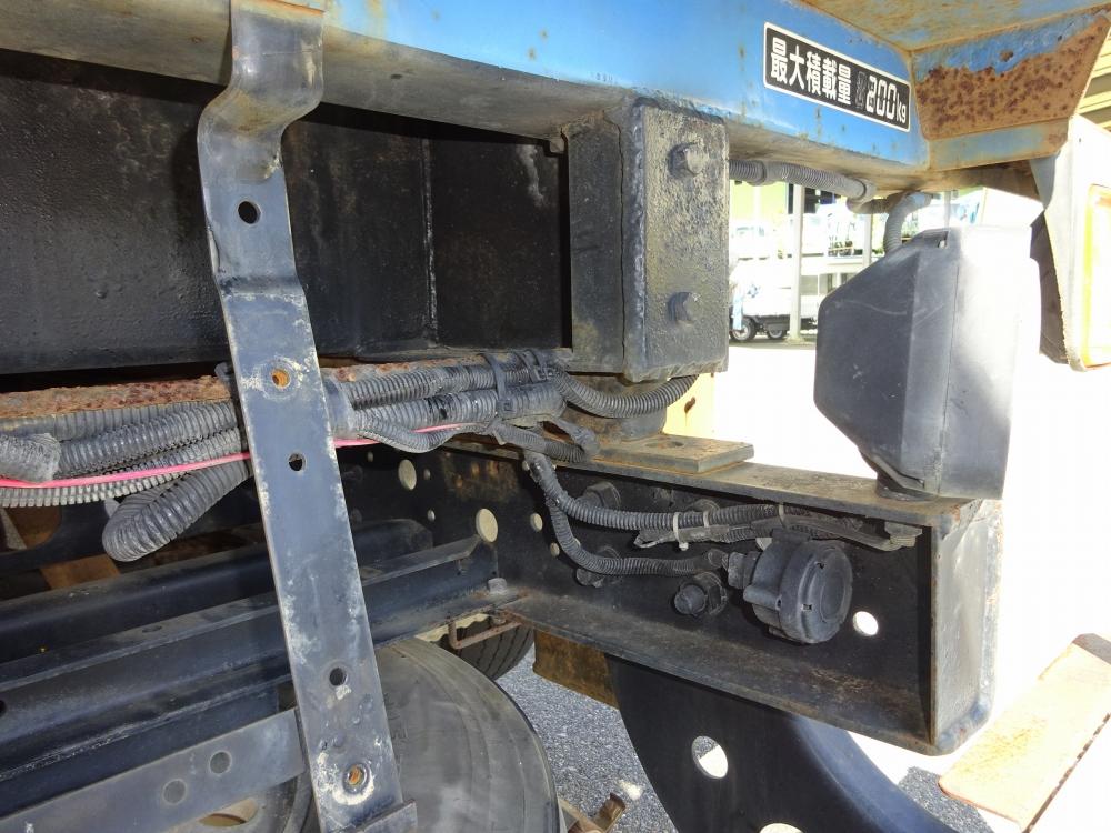 中古穴掘建柱車 いすゞ フォワード