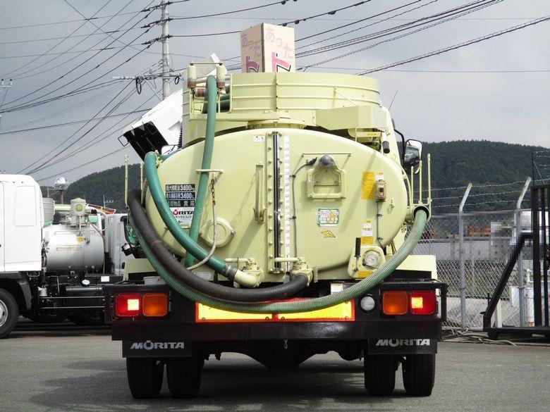 中古糞尿車(バキュームカー) 三菱ふそう ファイター