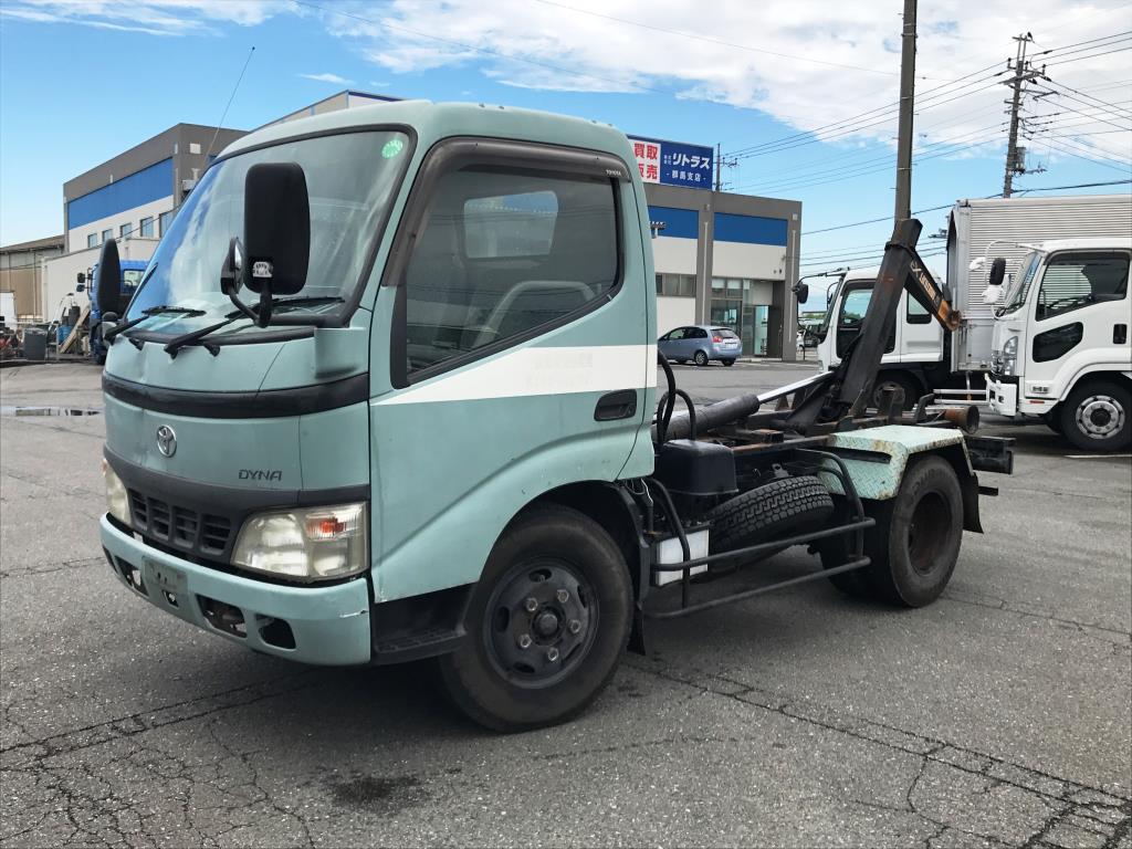 中古コンテナ車 トヨタ ダイナ