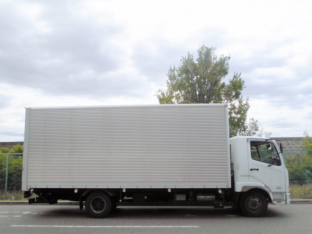 中古トラック H19年式 ワイド P/G付アルミバン