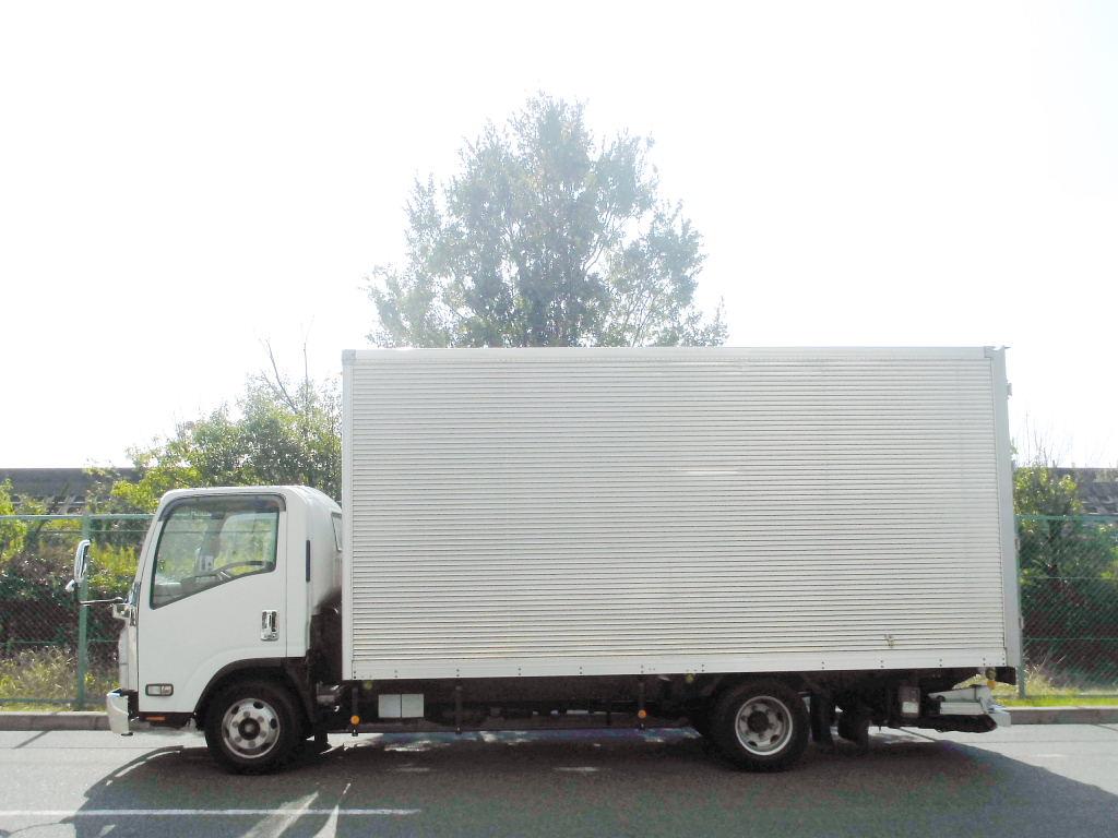 中古トラック H21年式 積載3t 検査付 超ロング 格納ゲート付 バン
