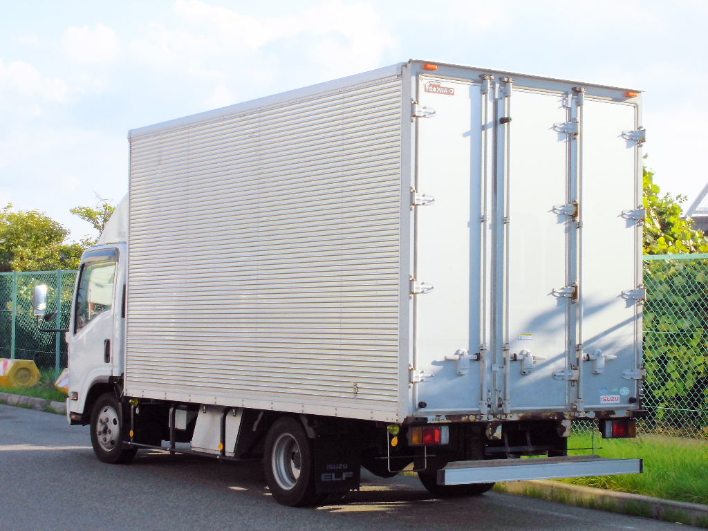 中古トラック H21年式 ワイドロング アルミバン