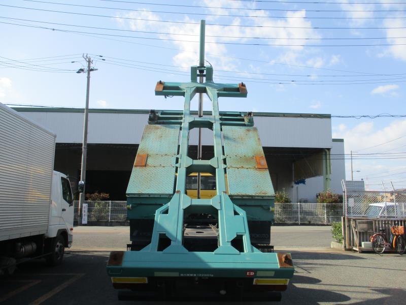 中古コンテナ車 UDトラックス クオン