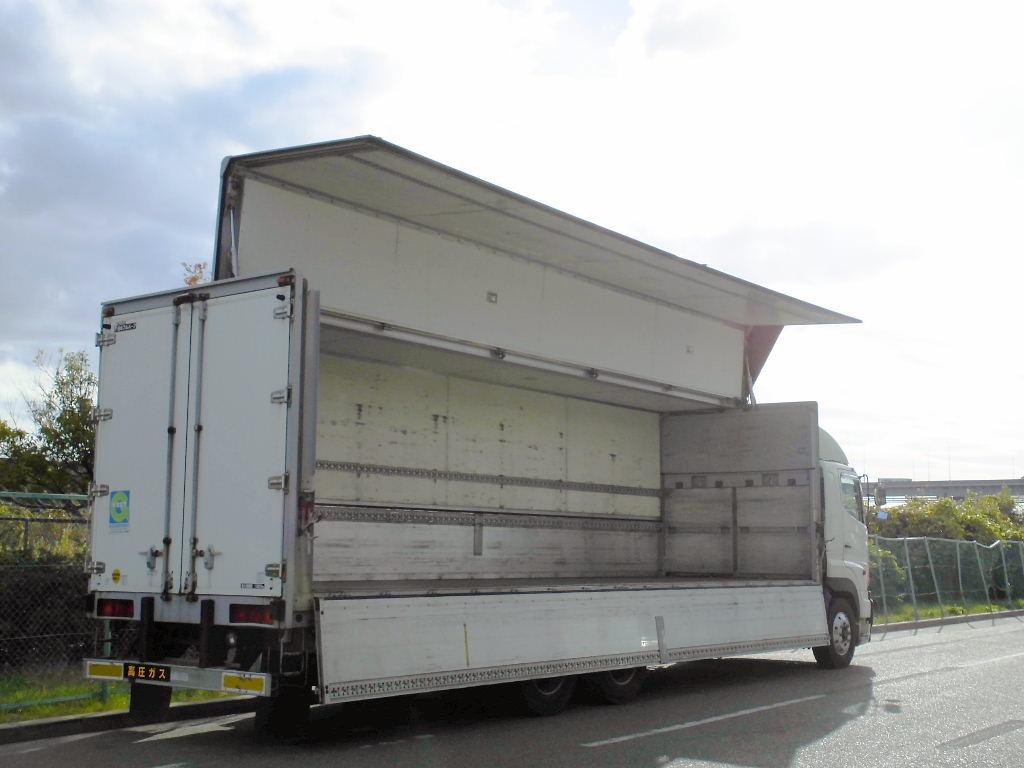 中古トラック H17年式 日野 マニュアル 3軸 アルミウイング