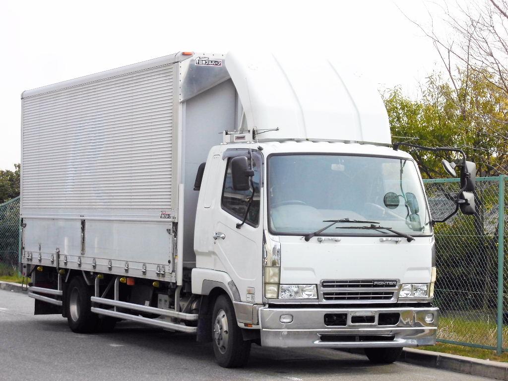 中古トラック H16年式 ファイター 検査付 エアサス ウイング