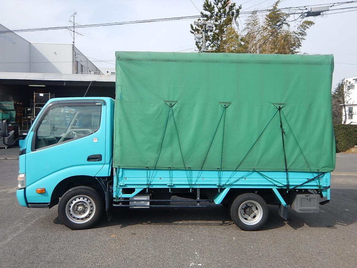 中古幌付き平ボディ トヨタ ダイナ