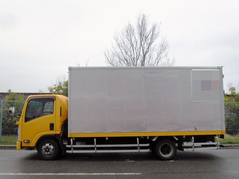 中古トラック H23年式 積載3t 超ロング アルミバン