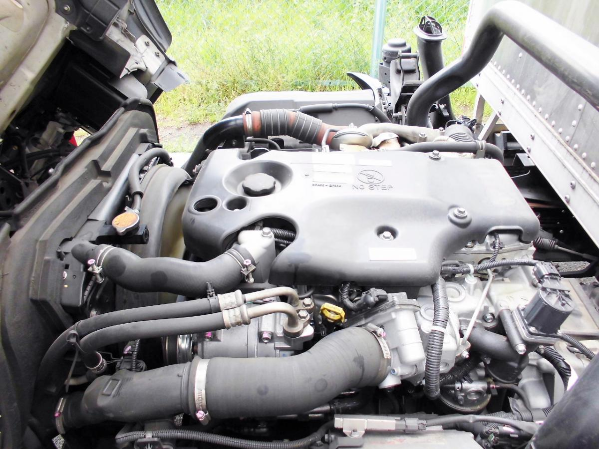中古トラック H22年式 超ロング 管理E/G載せ変え歴有 積載3t バン
