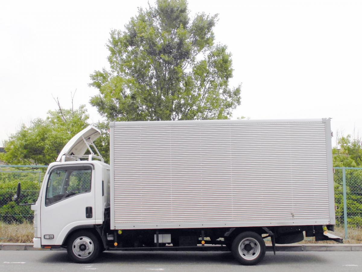 中古トラック H19年式 積載2t E/G載せ替え歴有 検査付 ロングバン