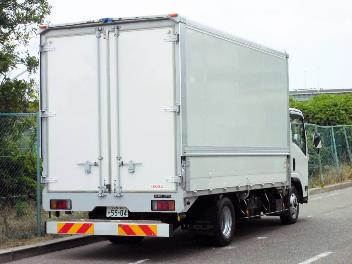 中古トラック H24年式 積載3t 検査付 ワイドロング パネルウイング