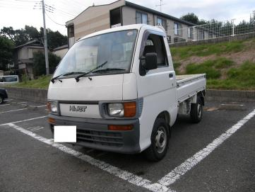 Japanese Used 41 Truck - DAIHATSU HIJET V-S110P for Sale