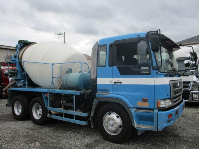 中古トラック H12年 日野 10tミキサー車 ターボ