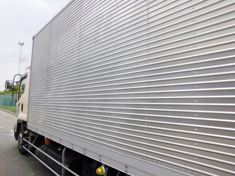 中古トラック H20年式 エアサス 格納ゲート付 アルミバン