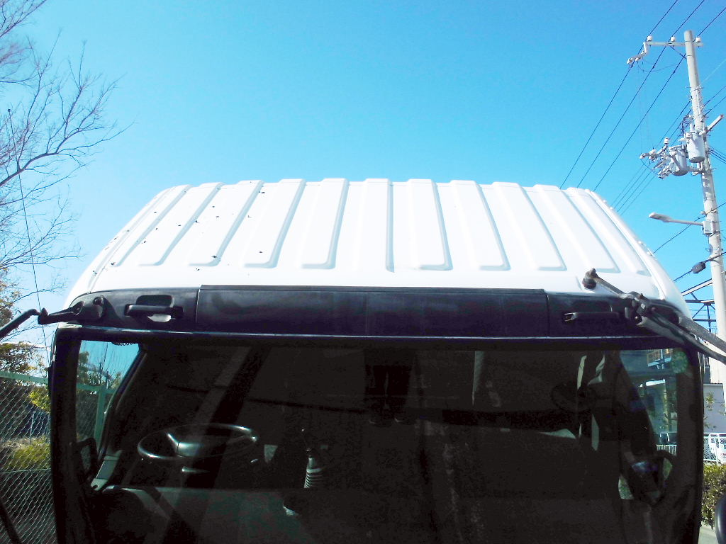 中古トラック H13年式 ワイド 格納ゲート付 アルミウイング