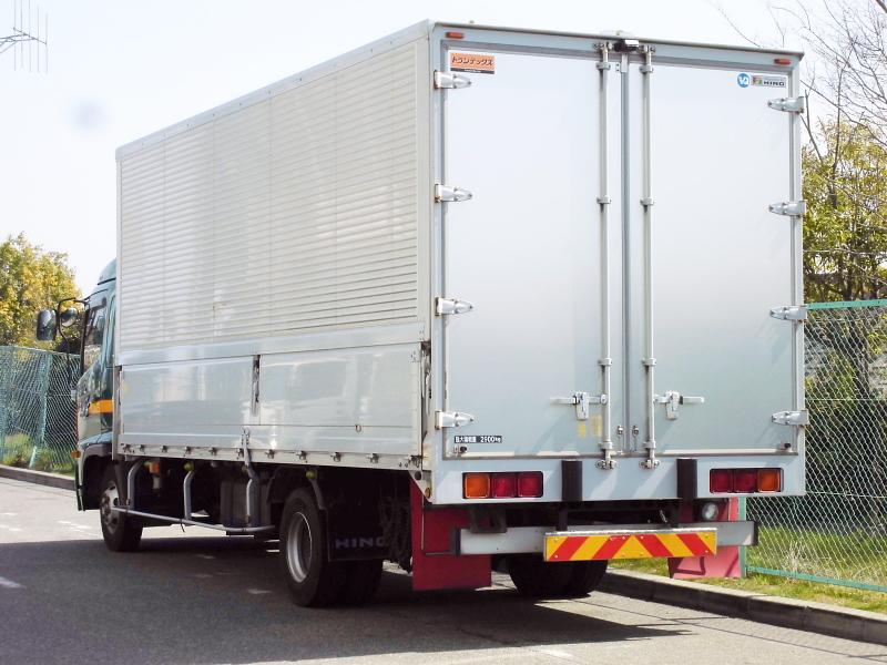 中古トラック H24年式 ワイド 検査付 6.2m アルミウイング