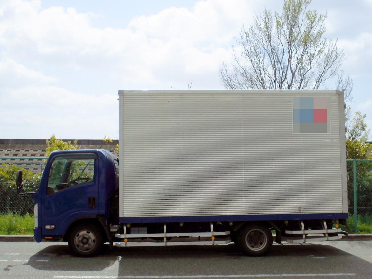 中古トラック H22年式 ワイドロング 積載2t アルミバン