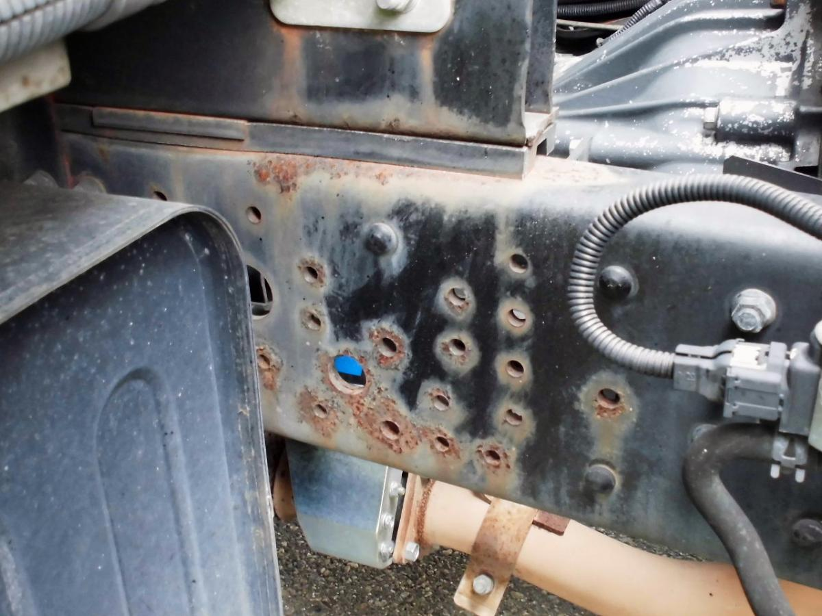中古トラック H18年式 エアサス P/G付 ワイドロング ウイング