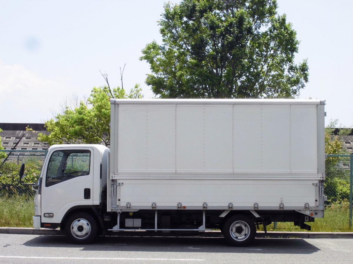 中古トラック H24年式 積載2t 検査付 ワイドロング パネルウイング