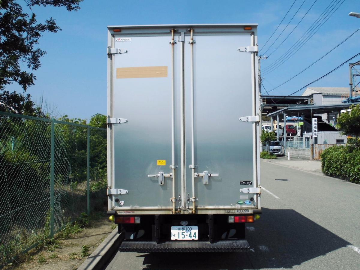 中古トラック H24年式 10尺 マニュアル アルミバン