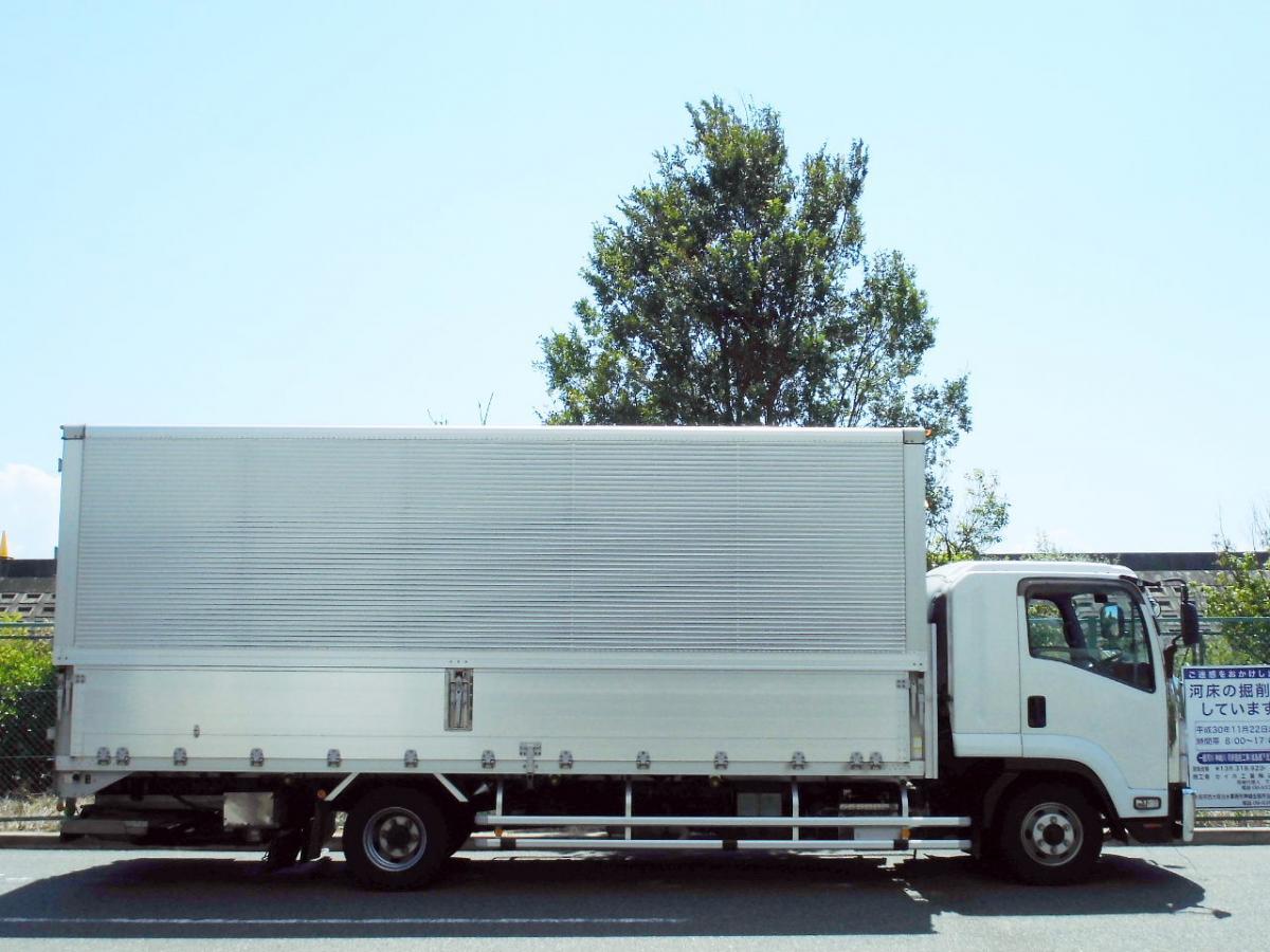 中古トラック H24年式 ワイド 6.2m 車検 格納パワーゲート付