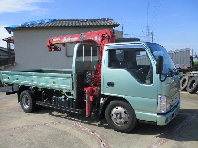 中古トラック H19年 いすゞ 2tクレーン付 ラジコン付 ユニック