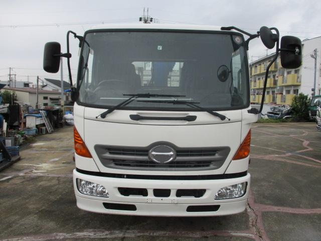 中古トラック H20年 日野4t P/G付 4段クレーン ラジコン付