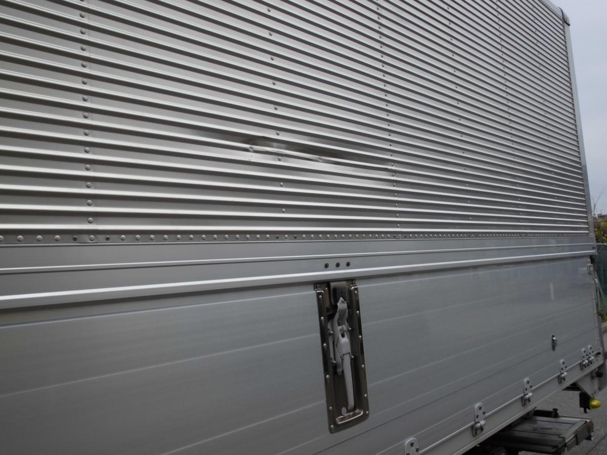 中古トラック H24年式 検査 格納ゲート付 6.2m ウイング