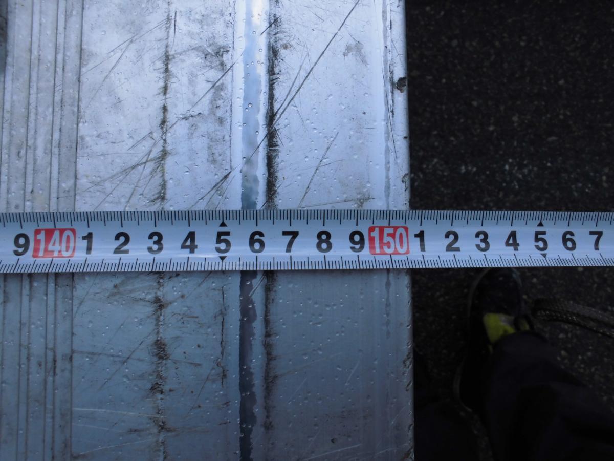 中古トラック H24年式 ワイド 5.8m 検査付 アルミバンゲート