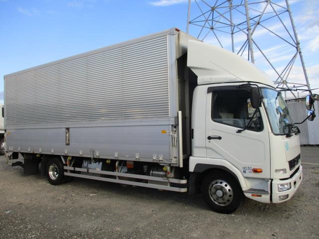 中古トラック H25年 三菱 P/G付 4tウイング ターボ 検査付