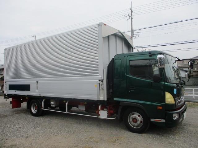 中古トラック H26年 日野 4tアルミウイング ターボ 検査付